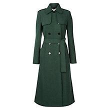 Hobbs Persephone Trench Coat - pine green £279