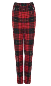Marks & Spencer Tartan Trousers