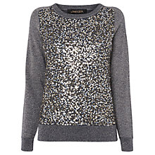 Jaeger sequin and lurex jumper £199