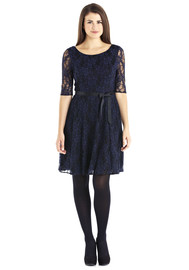 Tesco's lace skater dress